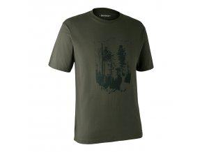 panske outdoorove triko jelen les
