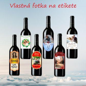 Víno s vlastnou fotkou !