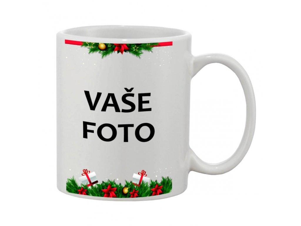 Hrnček s fotkou rámik vianoce