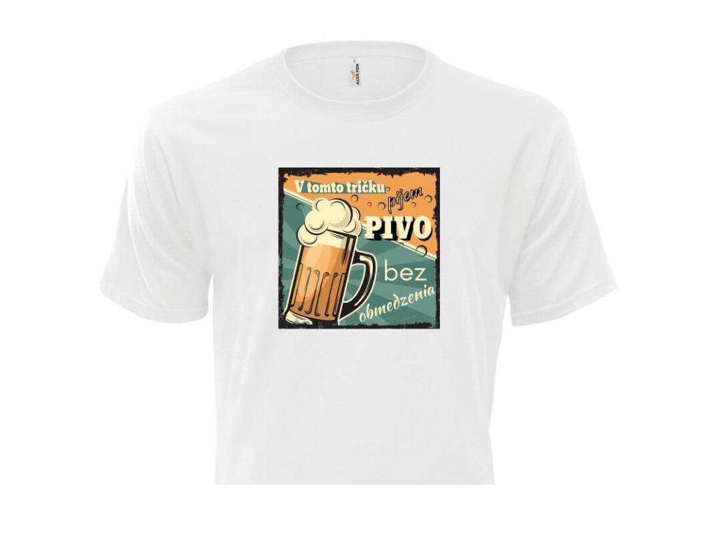pánske tričko rámik • Pivo titulka