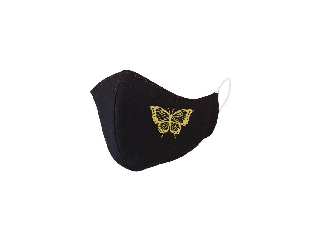 Motýľ.gold.rúško 1586 removebg preview