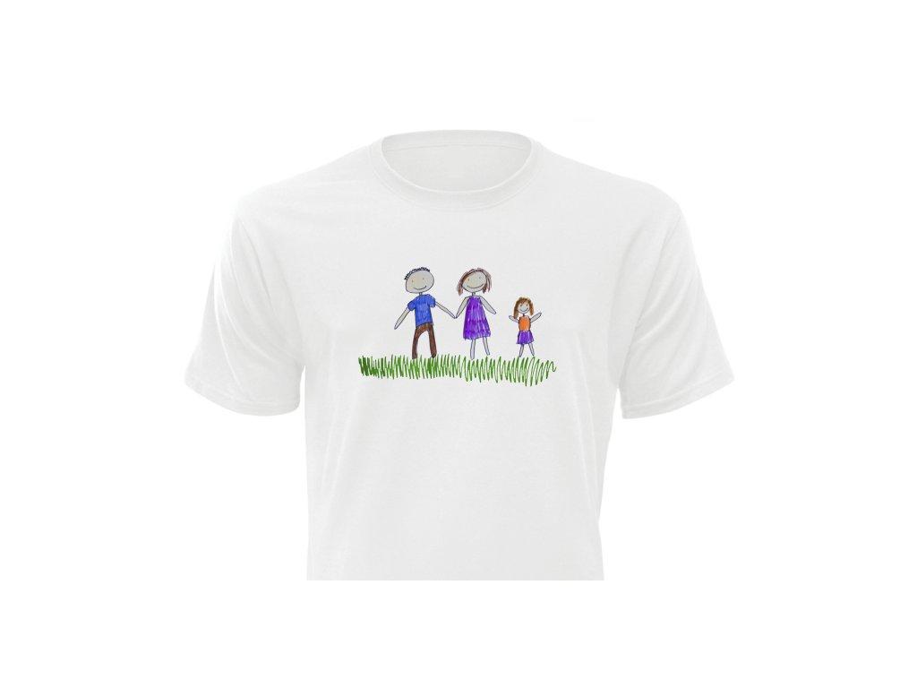 Tričko s kresbou Pánsky strih FOTOpošta