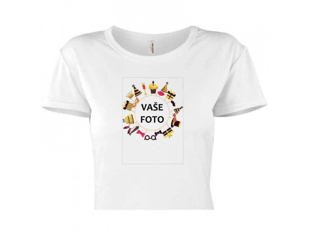 dámske tričko rámik párty 2 1 titulka
