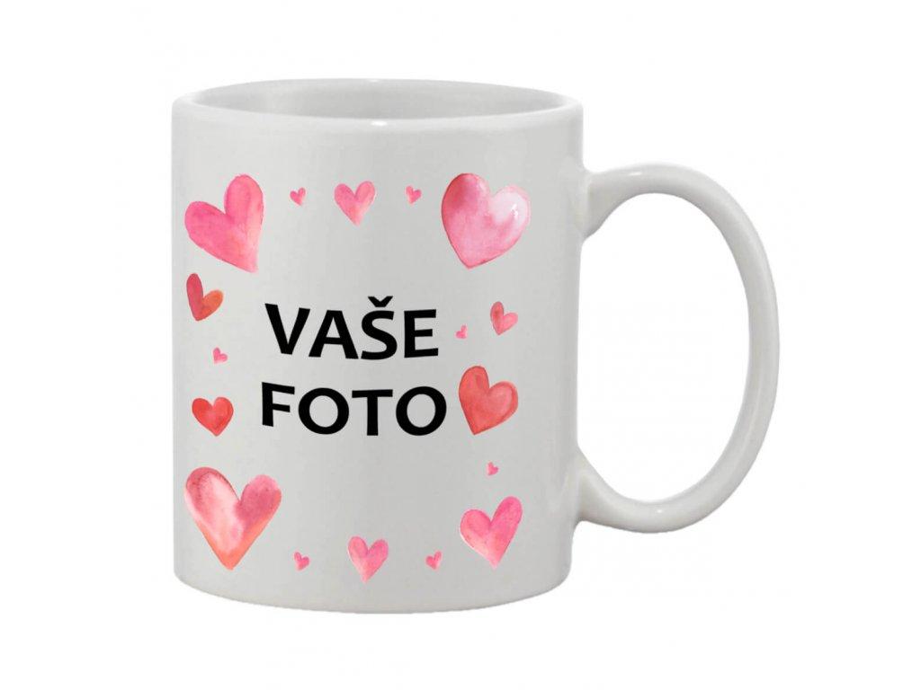 Hrnček s fotkou rámik valentín 3