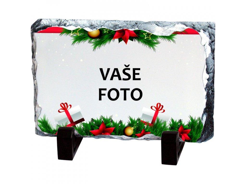 Foto kameň rámik VIANOCE 19x14 cm FOTO pošta