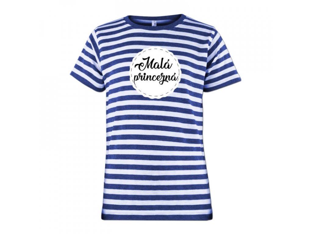 namornícke tričko • motív Malá princezná•1a tričko jpg