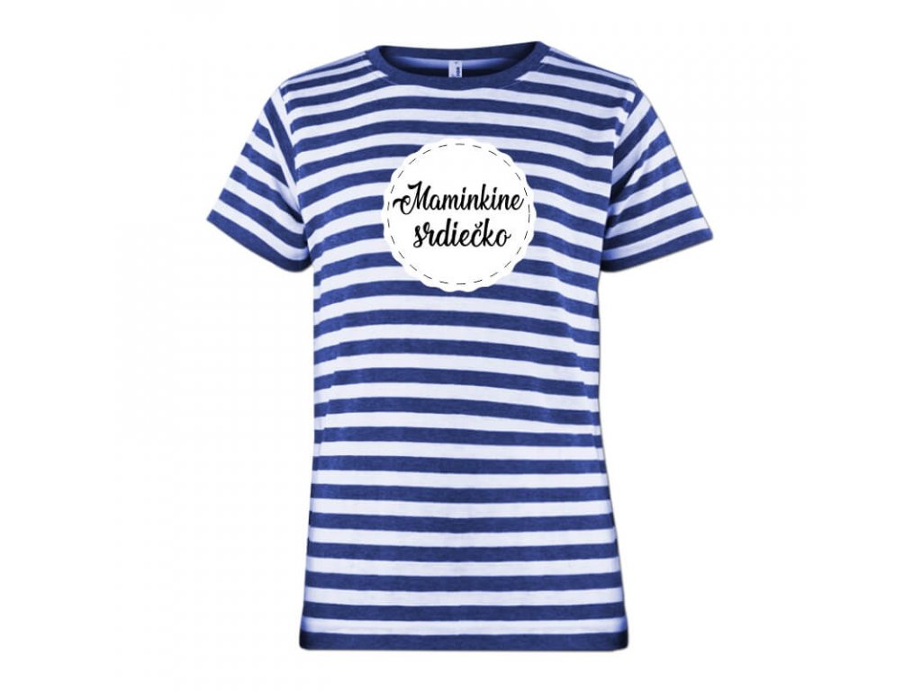 namornícke tričko•Maminkine srdiečko•tričko