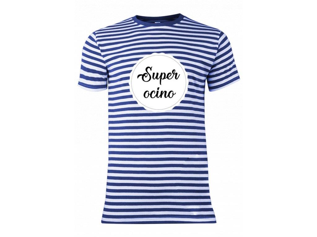 tričko námornícke•pánske•Super ocino