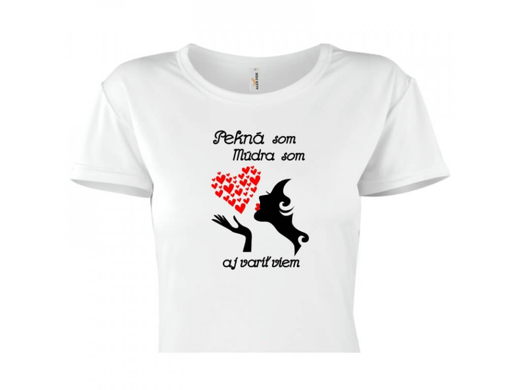 dámske tričko rámik • Pekná titulka