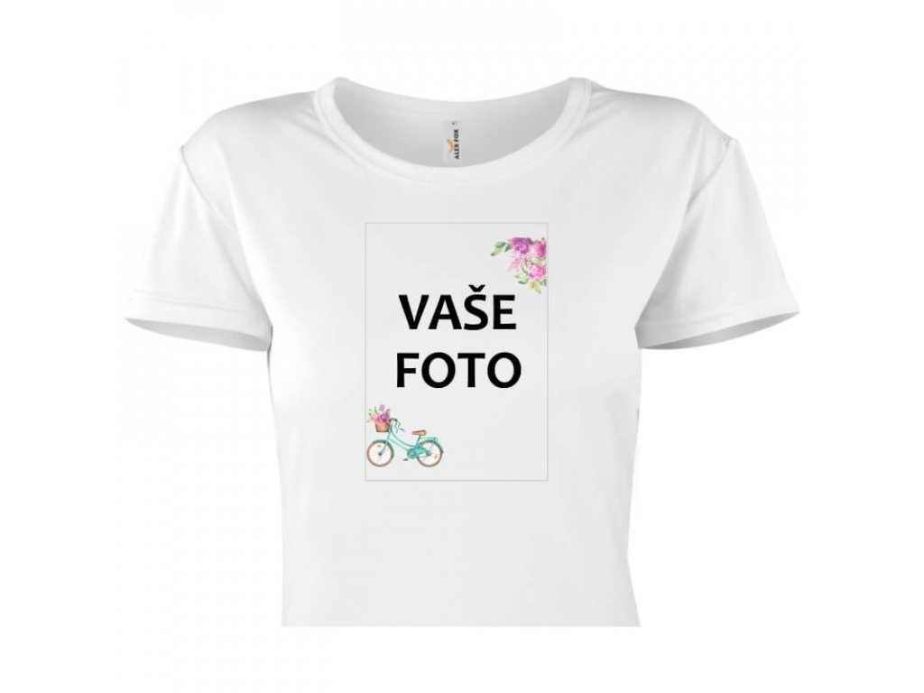 dámske tričko rámik bicykel 1 titulka