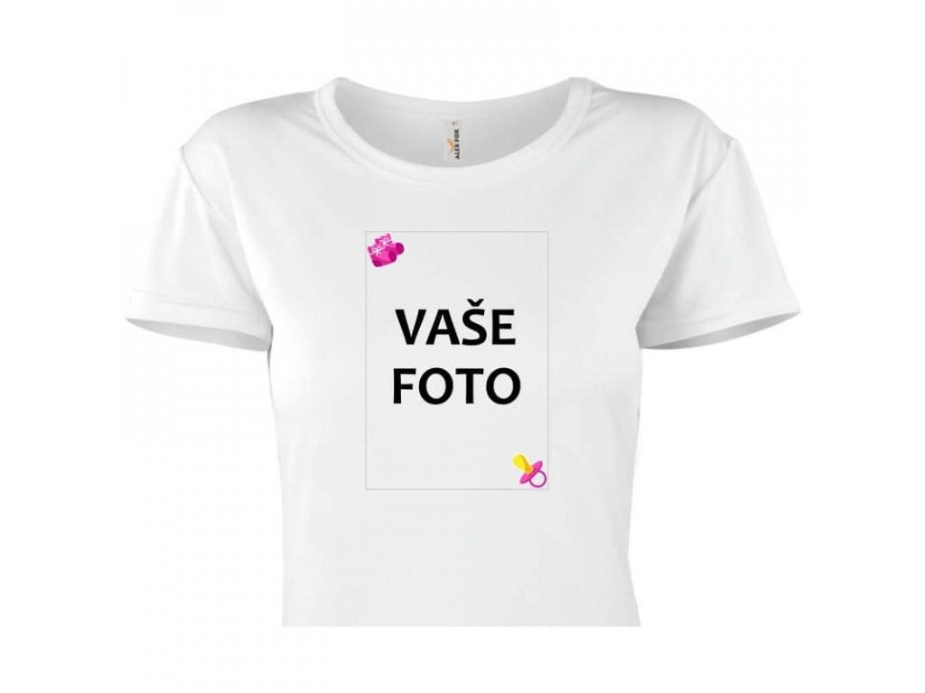 dámske tričko rámik ružový cumlík 1 titulka