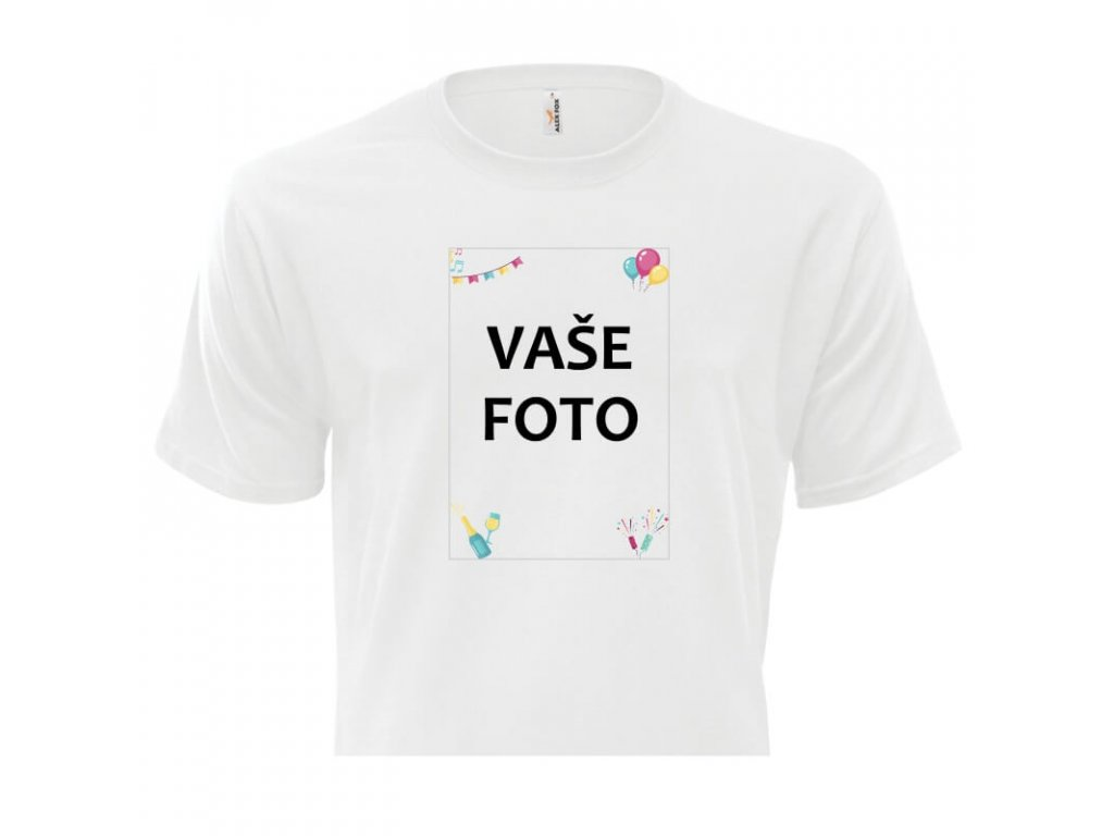 pánske tričko rámik Párty 1•1 titulka