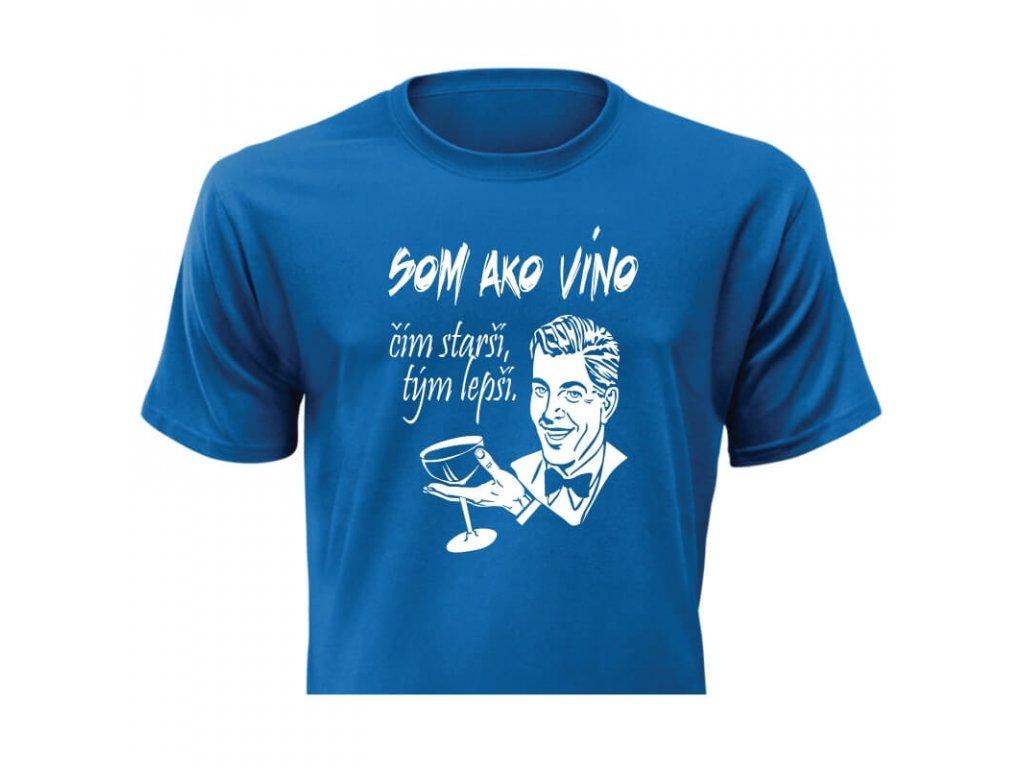 pánske tričko rámik • Víno modré tričko titulka