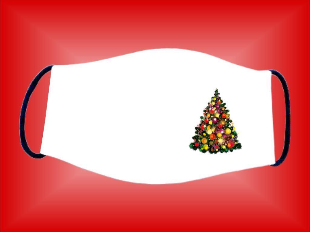 Rúško Stromček 3 bavlnené dvojvrstvové FOTOpošta
