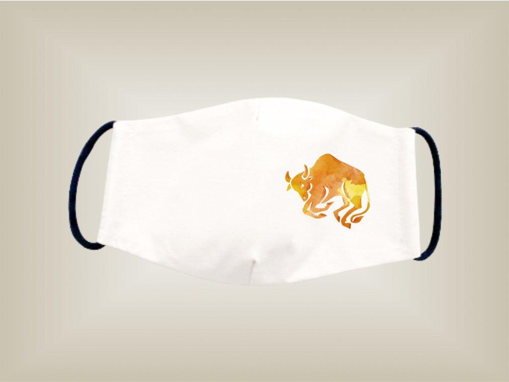 Rúško BÝK bavlnené dvojvrstvové