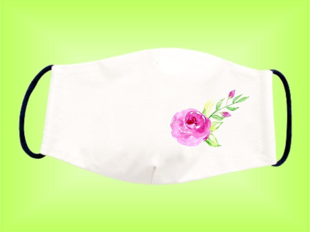 Rúško KVET 1 bavlnené dvojvrstvové FOTOpošta