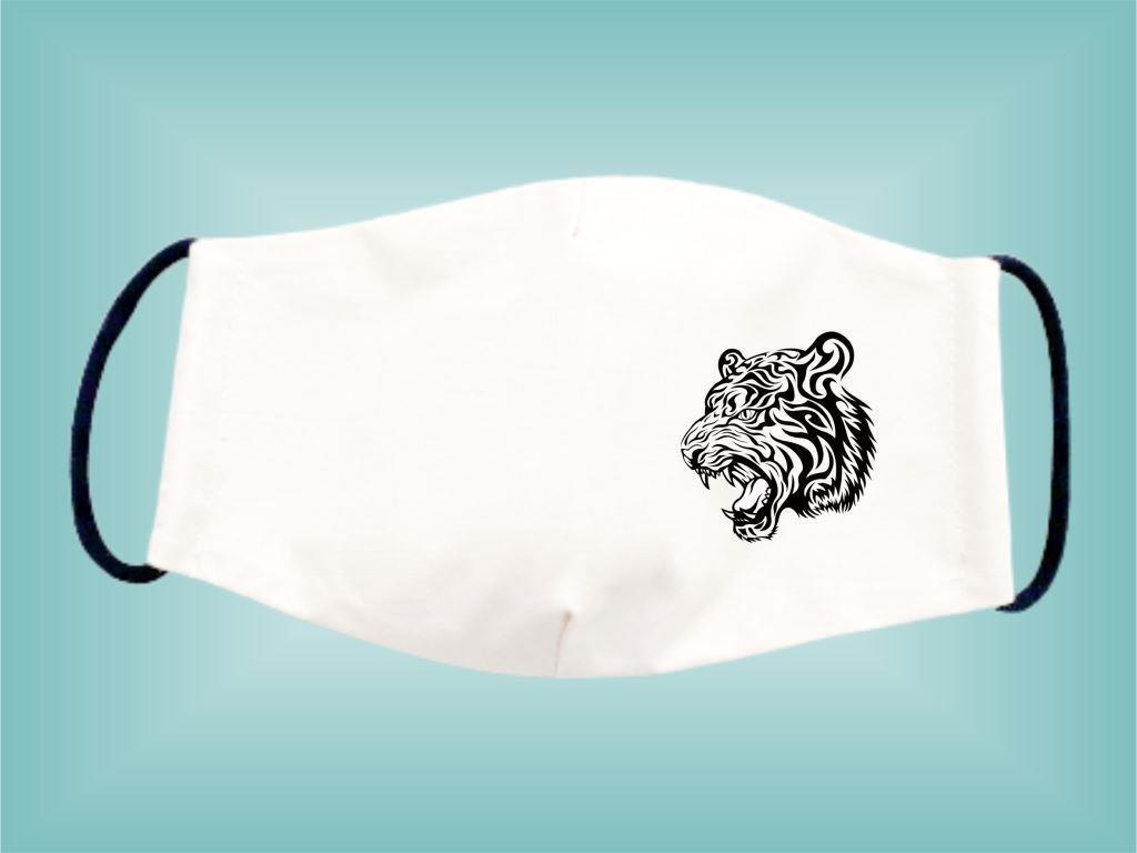 Rúško TIGER bavlnené dvojvrstvové