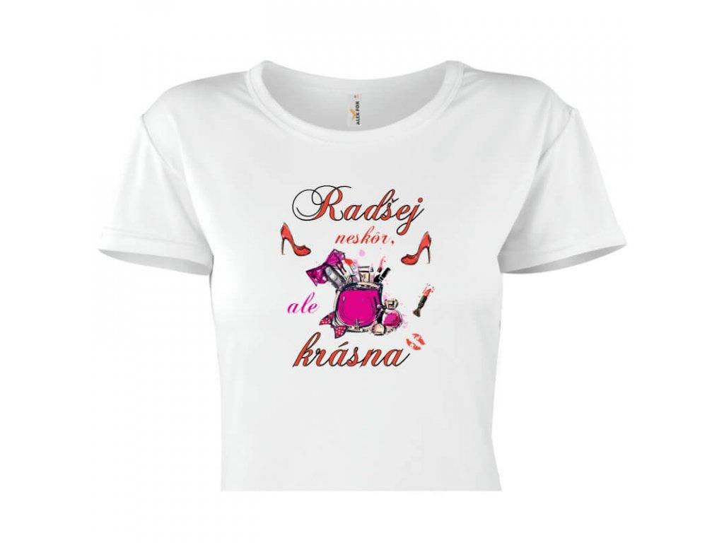 dámske tričko rámik • Vyzerám dobre titulka