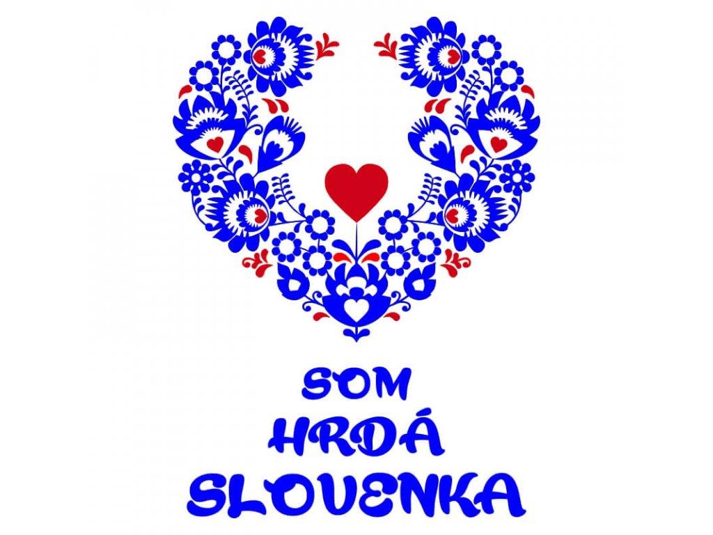 Hrdá Slovenka•motív1