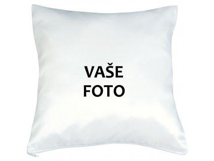 Obliečka s fotkou BEZ rámiku 40x40 cm FOTOpošta