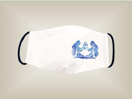 Rúško BLÍŽENCI bavlnené dvojvrstvové FOTOpošta