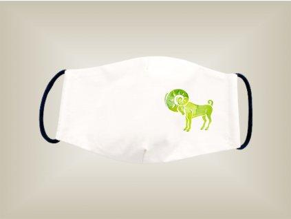 Rúško BARAN bavlnené dvojvrstvové FOTOpošta