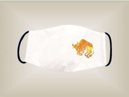 Rúško BÝK bavlnené dvojvrstvové FOTOpošta