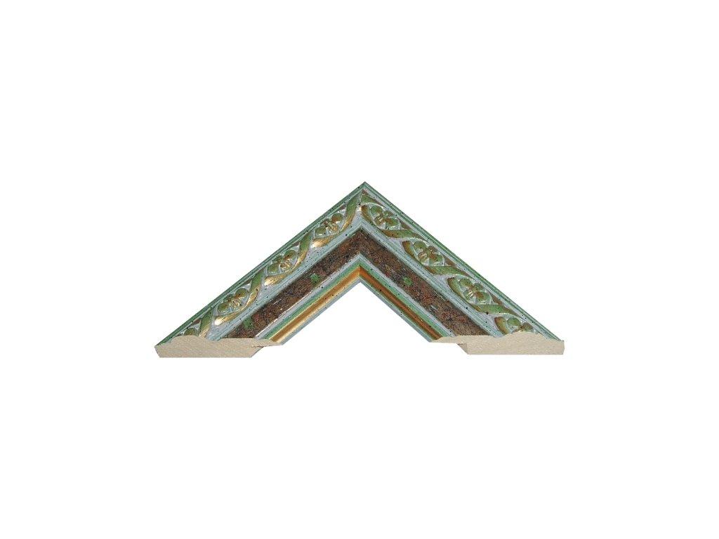 Fotorámeček 60x80 cm 19A s plexisklem (Plexisklo antireflexní (eliminuje odrazy a odlesky))