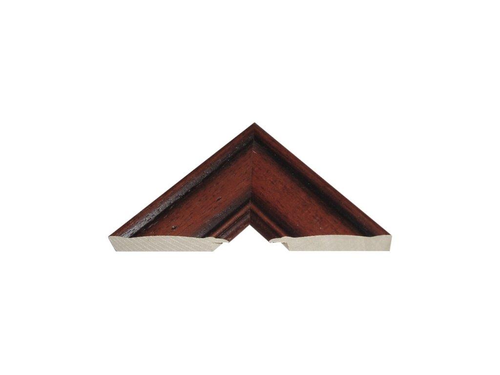Fotorámeček 50x70 cm 40 s plexisklem (Plexisklo antireflexní (eliminuje odrazy a odlesky))