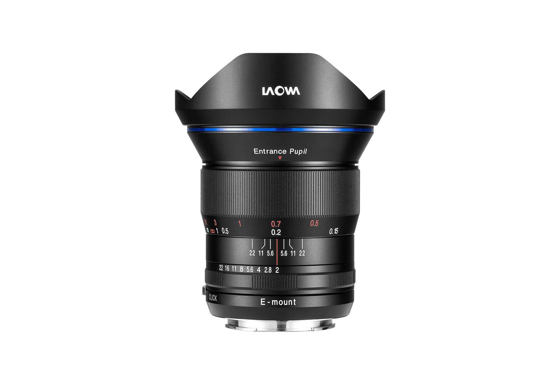 Laowa 15mm f/2 FE Zero-D