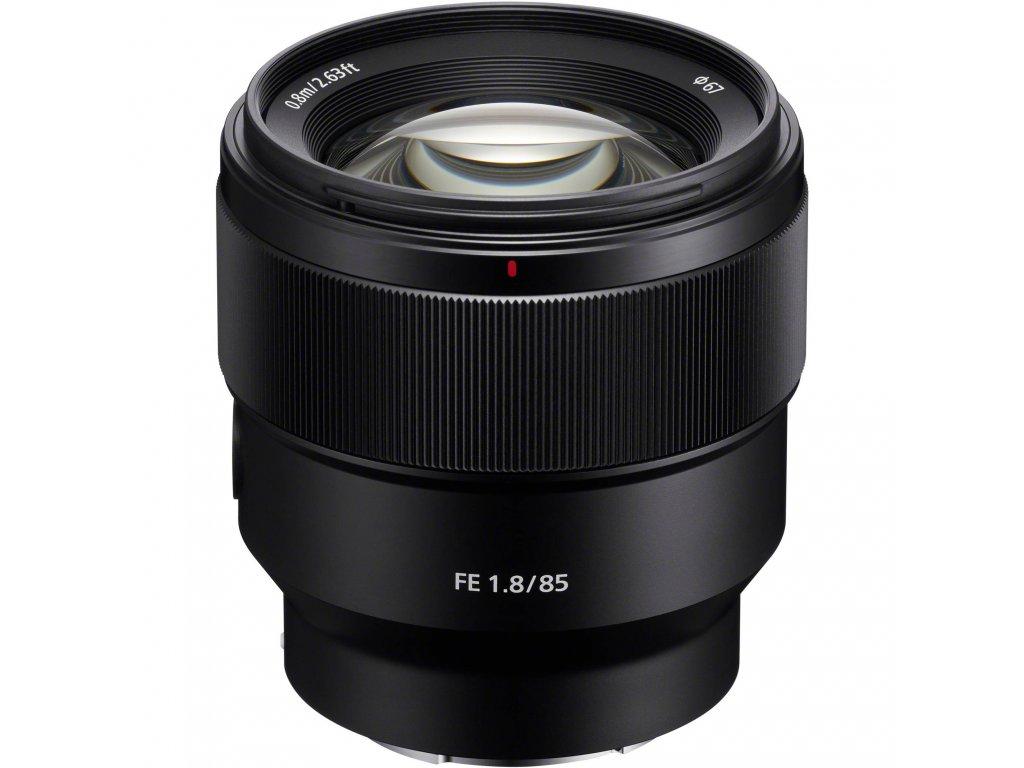 sony sel85f18 fe 85mm f 1 8 lens 1317562