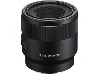 SONY FE 50mm f/2.8 MACRO  + CASHBACK 1 250 Kč + slevový kupón 2% na další nákup