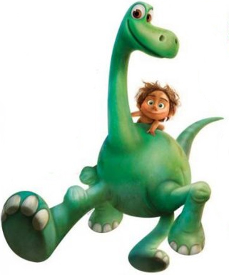 Hodný dinosaurus...NOVINKA!