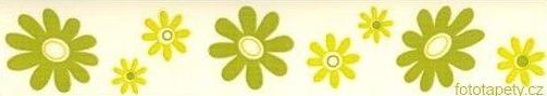 Samolepící bordury -  šíře 5 cm