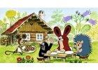 Dětské samolepky a dekorace s motivy českých pohádek