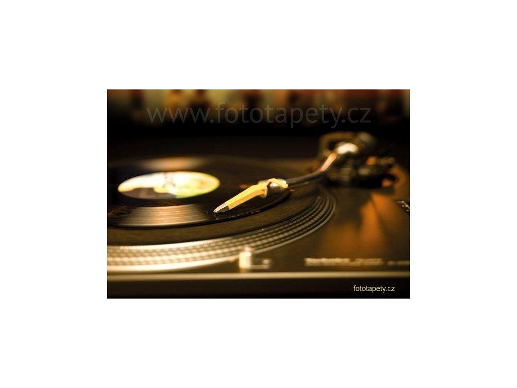 Maxiplakát - Gramofonová deska - šířka 184, výška 127cm