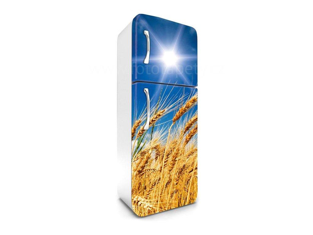 Samolepící fototapeta na lednici - Pšeničné pole, 65x180cm, 030