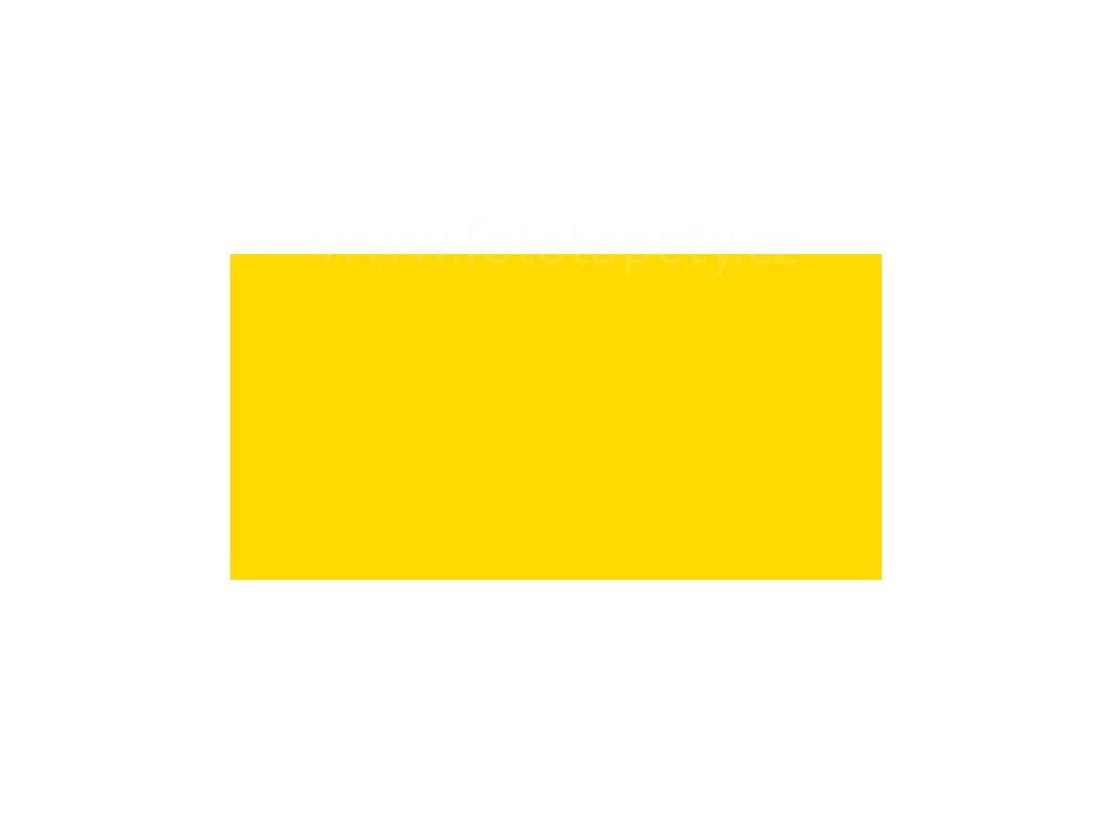 Samolepící tapeta jednobarevná matná RAL 1023 - Žlutá