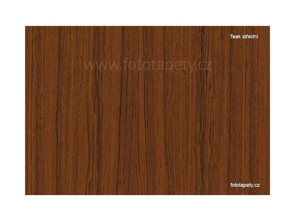 Samolepící folie d-c-fix imitace dřeva, vzor teak střední, DOPRODEJ!!