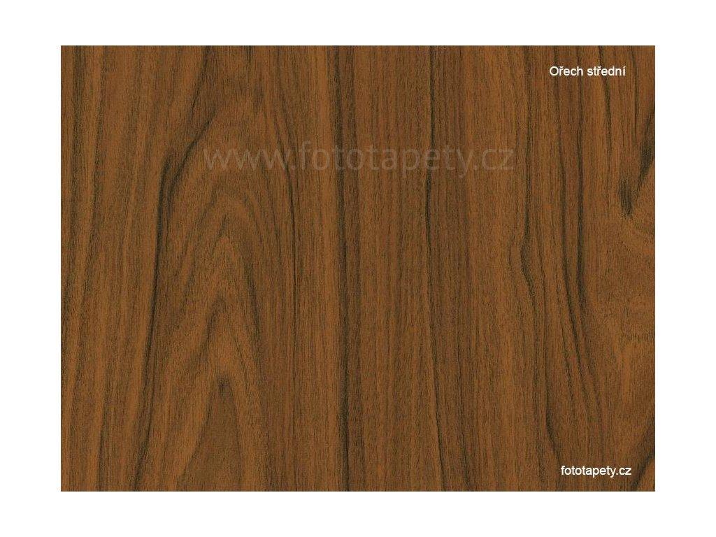 Samolepící folie d-c-fix imitace dřeva, vzor ořech střední