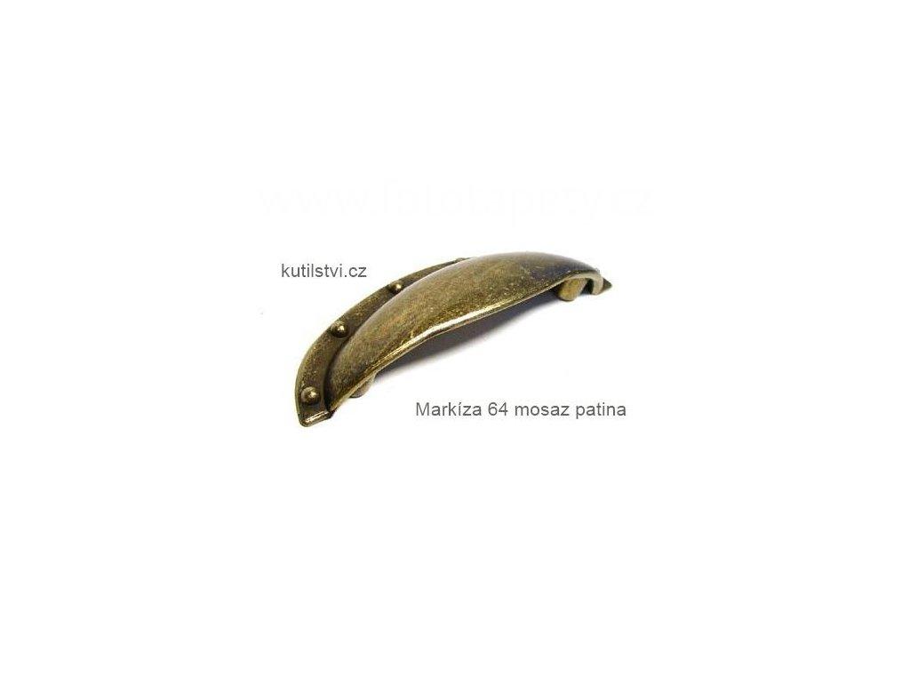 kovová úchytka MARKÍZA 64