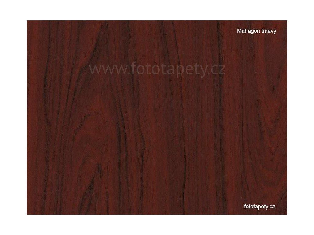 Samolepící folie d-c-fix imitace dřeva, vzor Mahagon tmavý