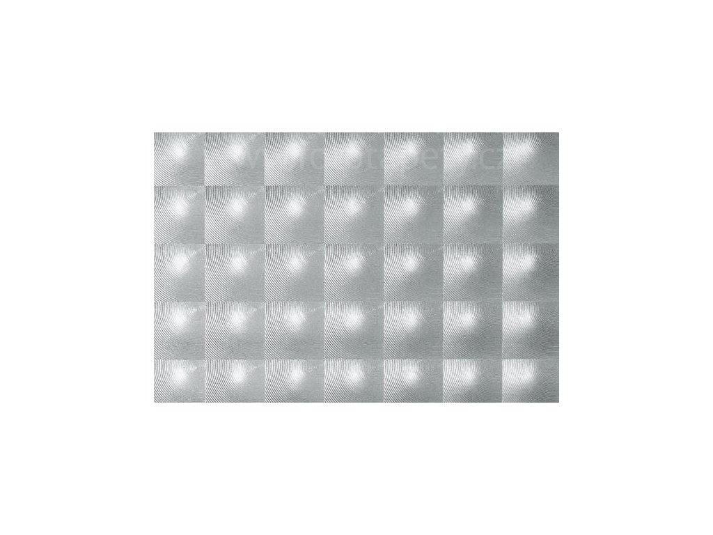Fólie d-c-fix transparentní samolepící - Čtverce, šíře 45 cm, DOPRODEJ!
