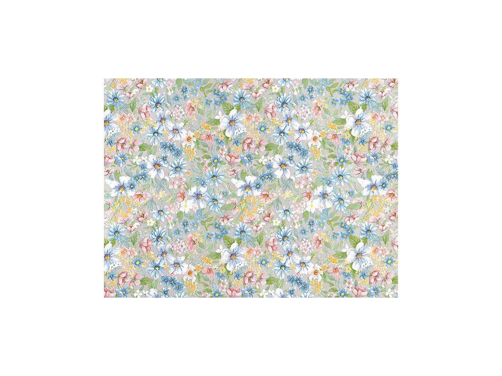 Samolepící tapeta d-c-fix, strukturální vzor  květiny Romantic