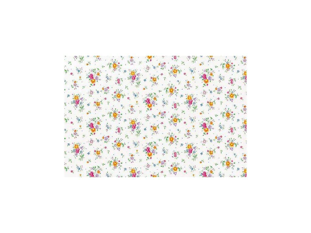 Samolepící tapeta d-c-fix, strukturální vzor  květiny Sunflor, skln