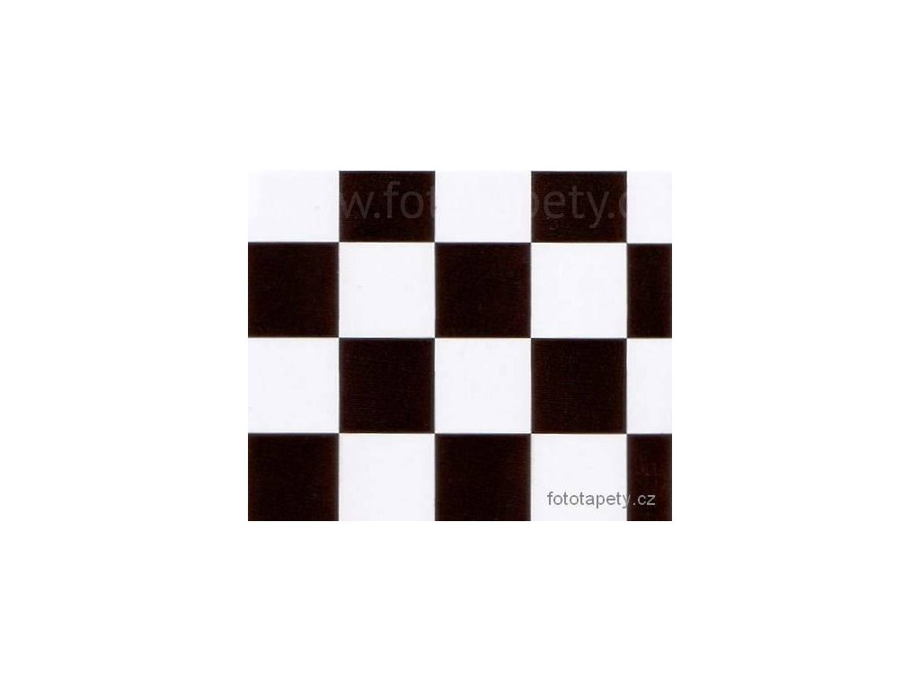 Samolepící tapeta d-c-fix  Decor, vzor Monza, šachovnice 35 x 35mm