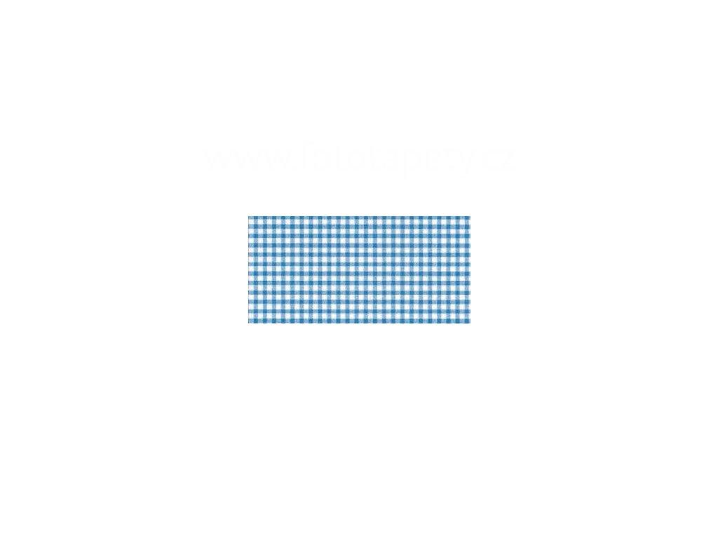 Samolepící tapeta d-c-fix Decor, vzor Kostkovaný ubrus modrý II