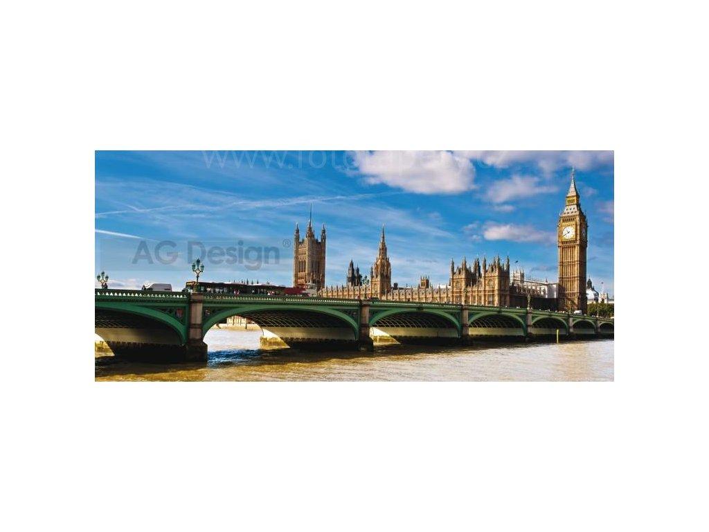 Panoramatická vliesová fototapeta Londýn FTN h 2710, rozměr 202x90cm