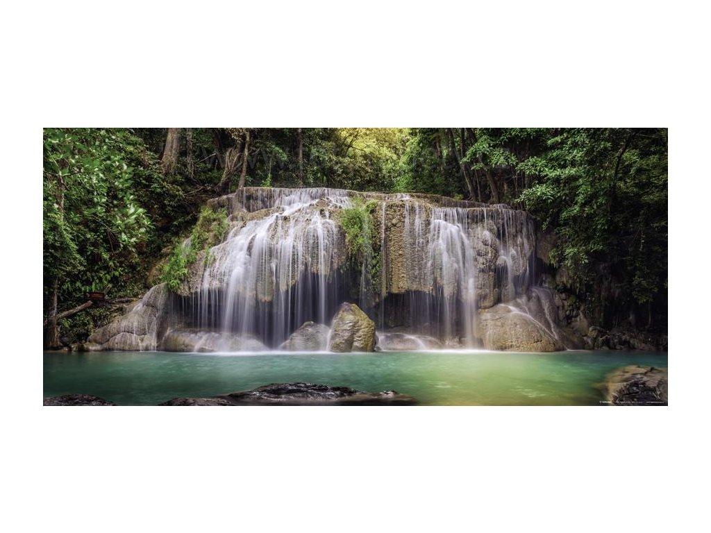 Panoramatická vliesová fototapeta Vodopády FTN h 2743, rozměr 202x90cm