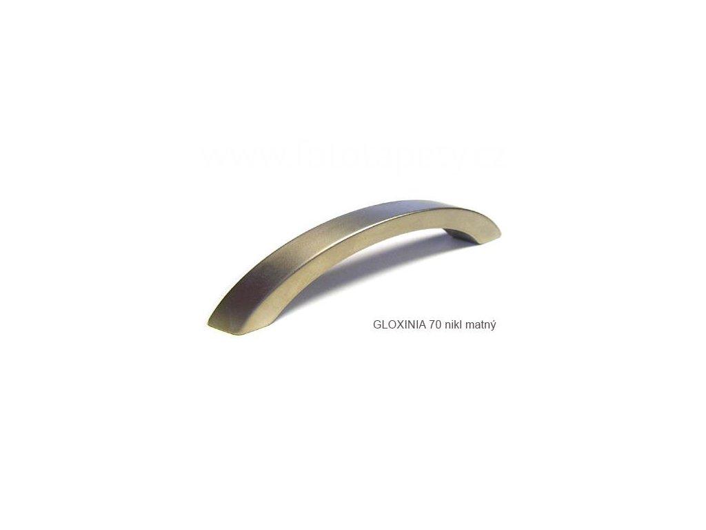 kovová úchytka GLOXINIA 70